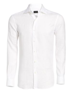 ERMENEGILDO ZEGNA | Button-Down Shirt | Goxip