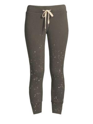 Maxwell Splatter Drawstring Sweatpants
