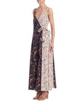 Side Tie Wrap Dress Rosie Assoulin p5eTy