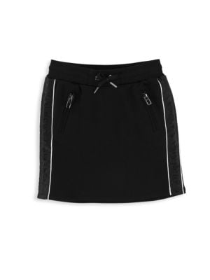Little Girl's & Girl's Fleece Logo Skirt