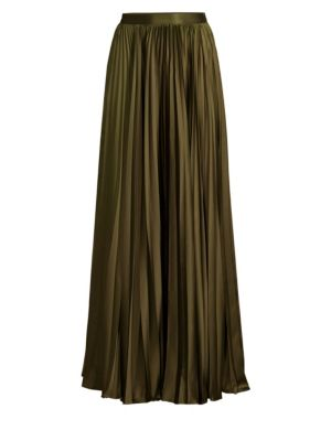 AMUR | Annie Accordion Pleated Maxi Skirt | Goxip