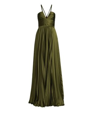 Valerie Pleated Gown