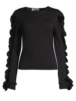 AMUR Alana Wool-Blend Sweater