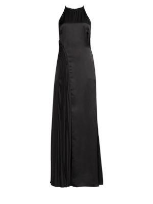 AMUR | Erica Halter Column Dress | Goxip