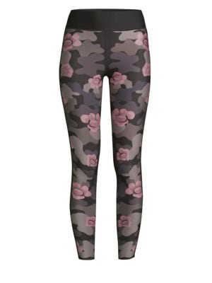 ULTRACOR ULTRA HIGH FLOWER CAMO LEGGINGS