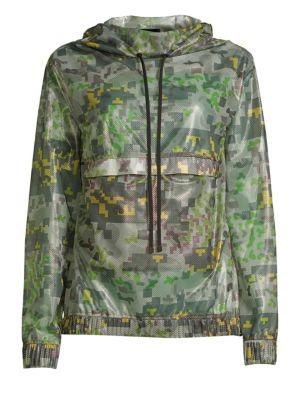 Sonorous Camo Anorak Jacket
