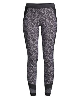 Floral Run Tights
