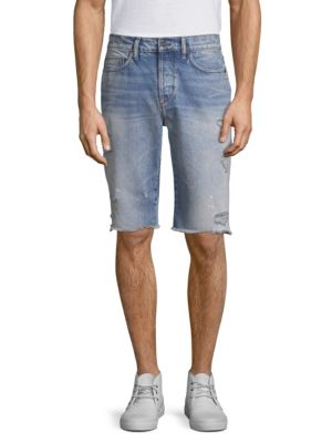 Dixon Destroyed Denim Shorts