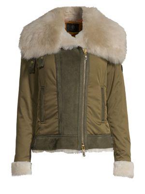 BOGNER | Raffi Fur-Trim Jacket | Goxip