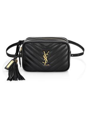 Small Monogram Matelasse Leather Belt Bag