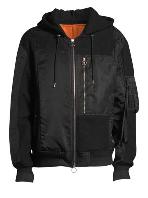 SOLID HOMME Sweatshirt Bomber Jacket