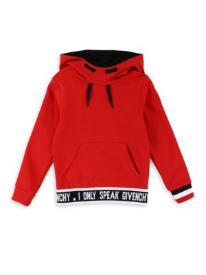 Little Boy's & Boy's Logo Band Hoodie