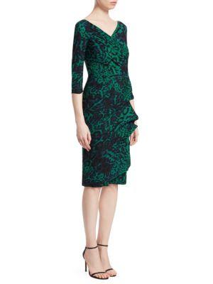 Florien Print Sheath Dress