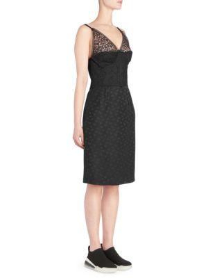 Tess Lace Corset Sheath Dress
