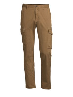 Low-Rise Tapered Cargo Pants