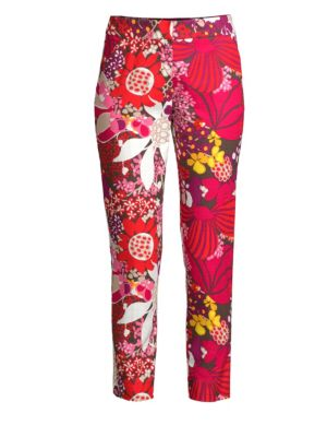 Found In Translation Floral Chino Pants