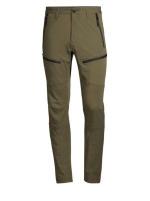 Tape Zip Skinny Cargo Pants