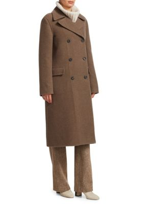 LORO PIANA Raymun Pile Cashmere Double-Breasted Jacket