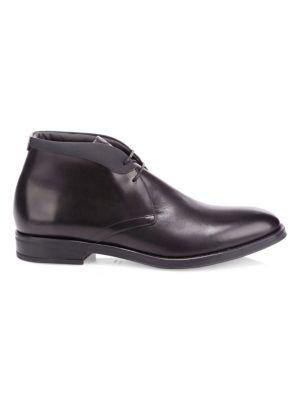 Paride Leather Chukka Boots