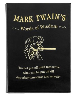 Mark Twain's World Of Wisdom Book