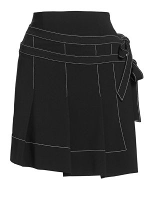 Ingrid Pleated Mini Skirt