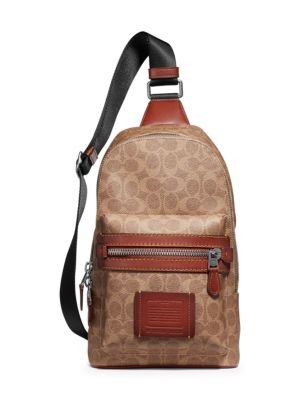COACH Academy Signature Backpack