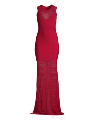 Knit Bandage Gown