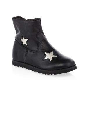 Kid's Leather Twinkle Boots