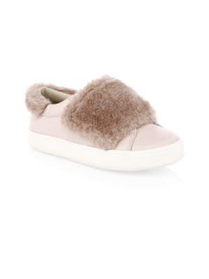 Kid's Faux Fur Master Sneakers