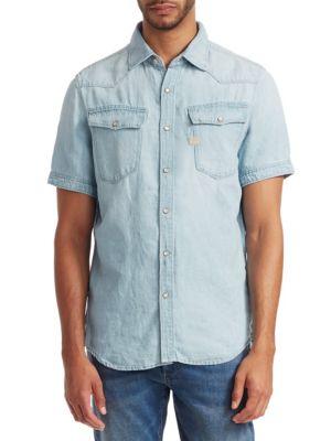 G-STAR RAW 3301 Denim Short-Sleeve Shirt