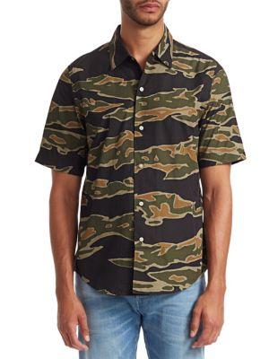 Camouflage Short-Sleeve Shirt
