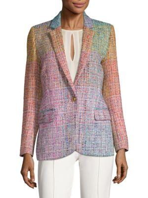 Baurent Wool-Blend Tweed Blazer