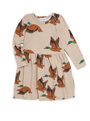 Baby Girl's, Little Girl's & Girl's Duck Fit-&-Flare Dress