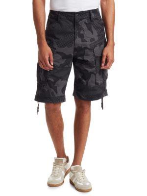 G-STAR RAW Rovic Loose Camouflage Shorts