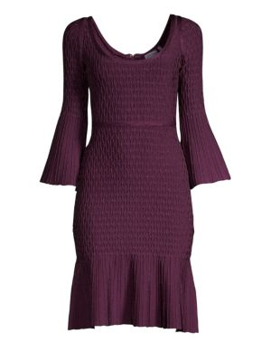 Flutter-Sleeve Bodycon Dress