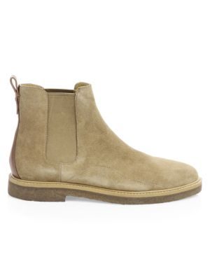 Suede Chelsea Boots by Coach