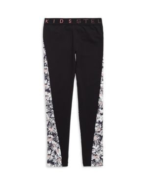 Girl's Daisy Athletic Leggings