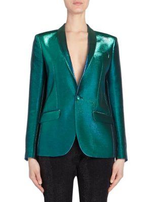 Holographic Tuxedo Jacket