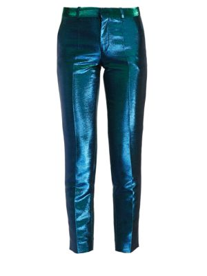 EACH X OTHER Holographic Tuxedo Pants