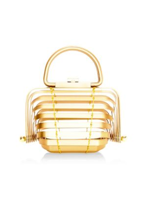 CULT GAIA Lilleth Metal Cage Clutch