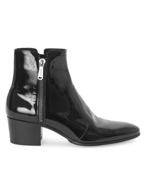 Fitz Patent Leather Boots