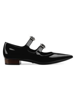 Patent Leather Mary-Jane Flats