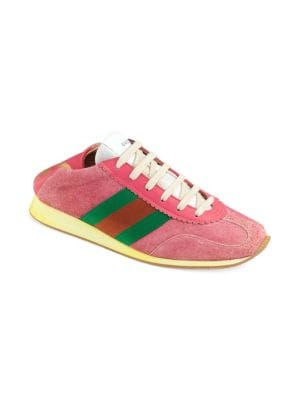 SUEDE SNEAKER WITH WEB