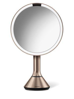 "8"" Sensor Makeup Mirror With Brightness Control"