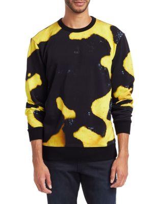 G-STAR RAW Abstract Print Sweatshirt