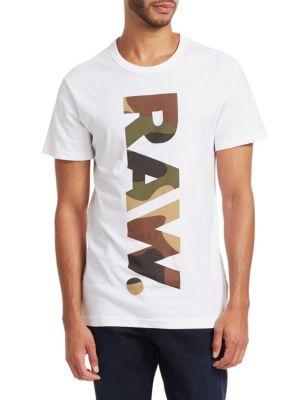 G-STAR RAW Short-Sleeve Graphic Tee