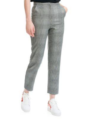 MAJE Checker Pants