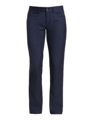 COLLECTION Wool Five-Pocket Pants