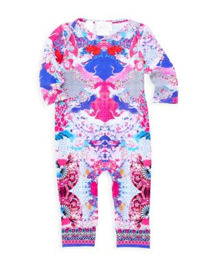 Baby Girl's Printed One-Piece