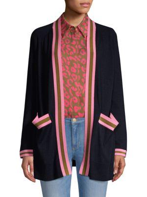ESCADA SPORT Open-Front Wool Cardigan
